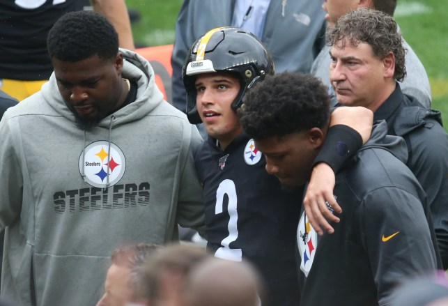 'He wasn't there': Mason Rudolph's Steelers teammates react to scary injury