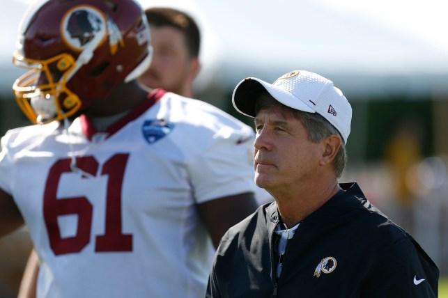 Get to know Washington Redskins interim head coach Bill Callahan