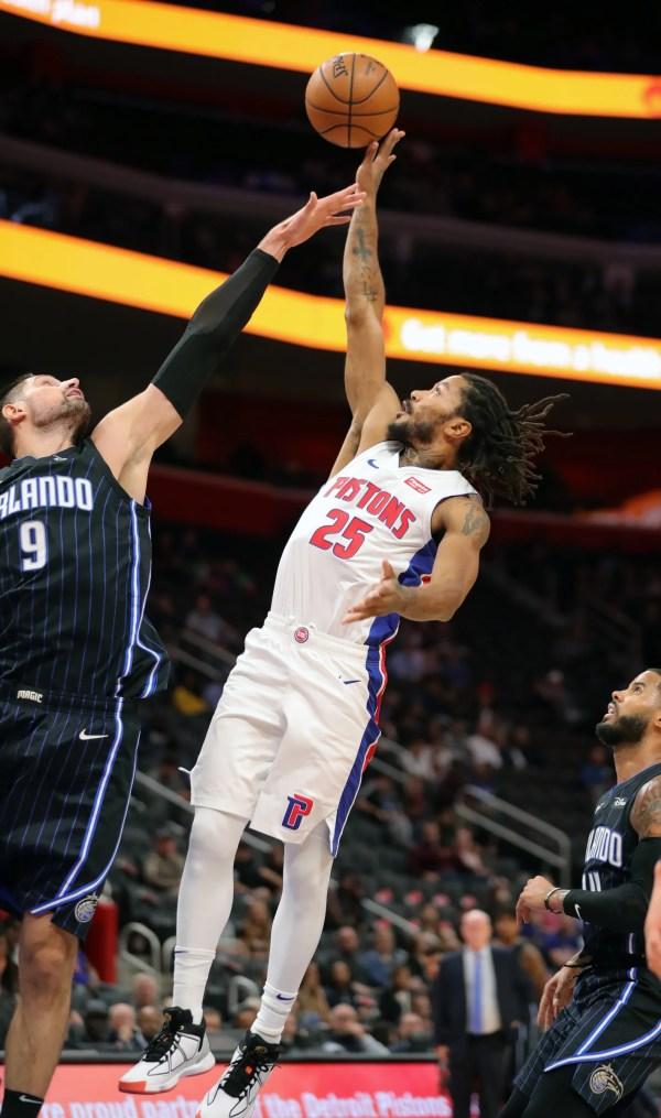 Detroit Pistons observations: Derrick Rose a fan favorite, Christian Wood impresses