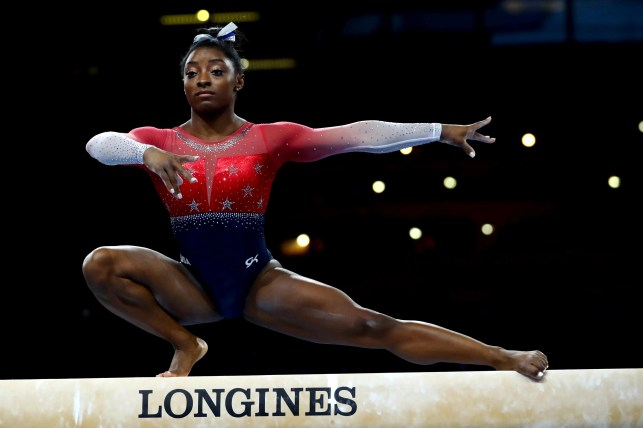 Opinion: Simone Biles is the ultimate security blanket for the US women gymnastics team