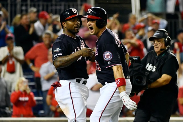 Ryan Zimmerman, Max Scherzer lead Nationals to win against Dodgers, forcing Game 5