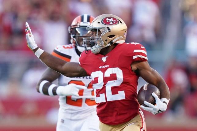 San Francisco 49ers' Matt Breida has fastest speed for ball carrier over past two seasons
