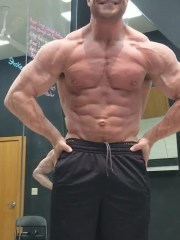 In 2014, Jake Perkins started hitting the gym and lost 40 pounds. Since then, he's competed in two bodybuilding competitions, placing first and second.