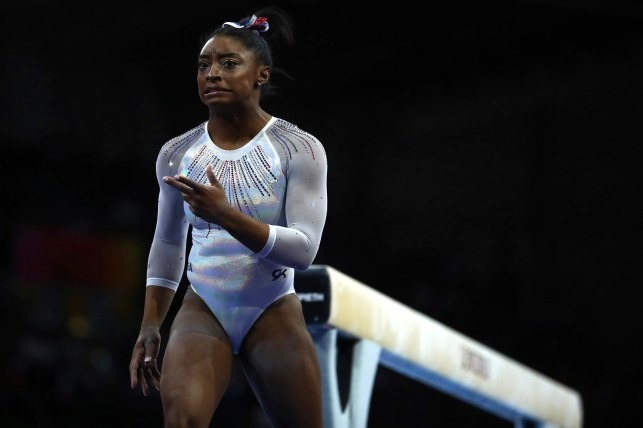 Why Simone Biles has a 'love-hate' relationship with the balance beam