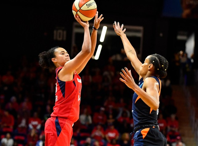 Washington Mystics outshine Connecticut Sun to win first WNBA Championship