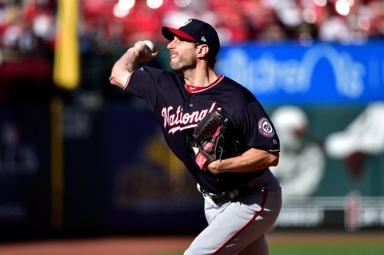Max Scherzer struck out 11 and allowed just one hot over seven innings.