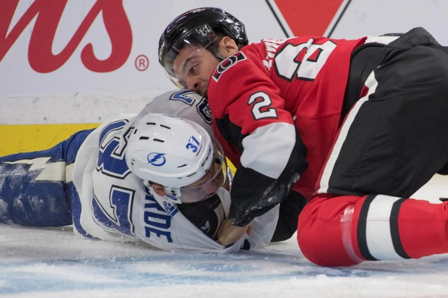 Fights of the 2019-20 NHL season