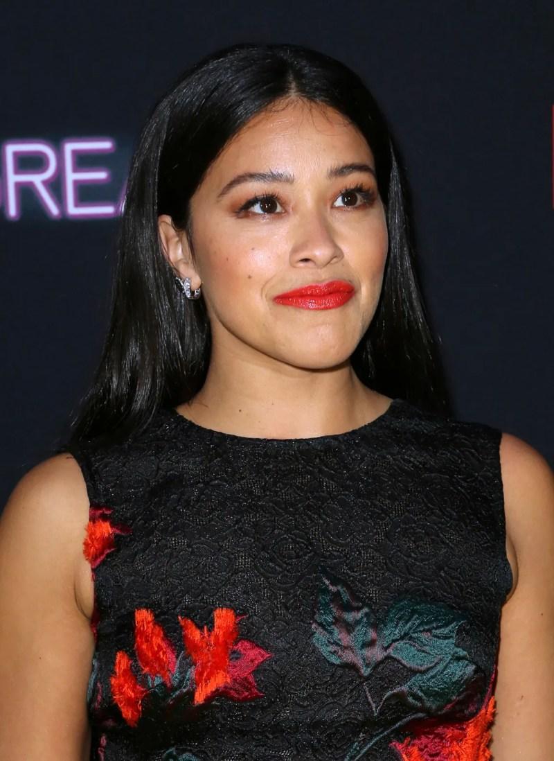 Gina Rodriguez apologizes for singing lyric with slur