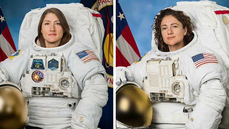 Two female astronauts are making history. How to watch NASA