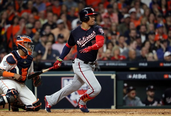 20-year-old Juan Soto shines, Nationals topple Astros