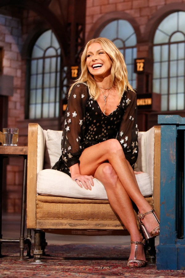 Kelly Ripa says her eldest kid is