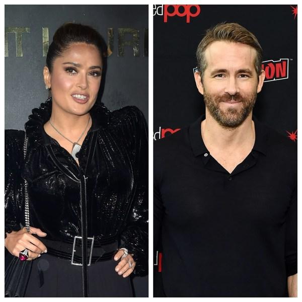 Salma Hayek hilariously trolls Ryan Reynolds with a