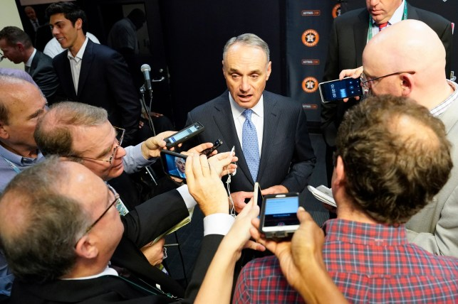 MLB commissioner Rob Manfred on Astros controversy: 'We have to be tremendously concerned'