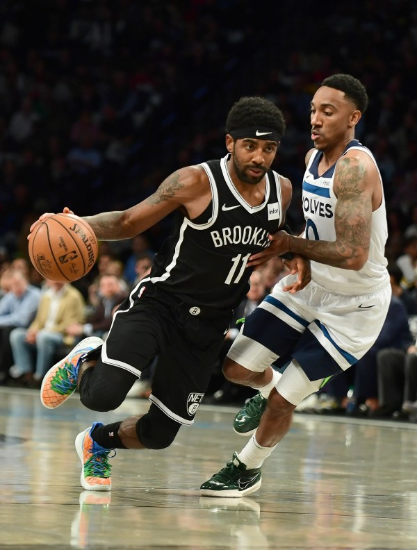 Kyrie Irving dazzles with 50 points in Nets debut, though final shot doesn
