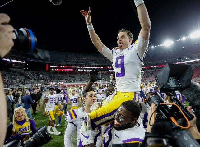 Football Four: After beating 'Bama, LSU shoots all the way to the top