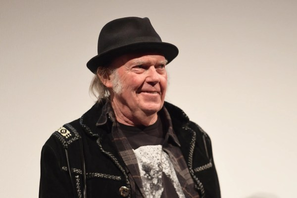 Neil Young says President Trump is