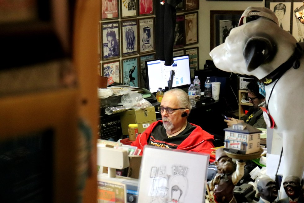 For this past 21 years, Rich Rosen has run Wax Trax Records in Las Vegas.