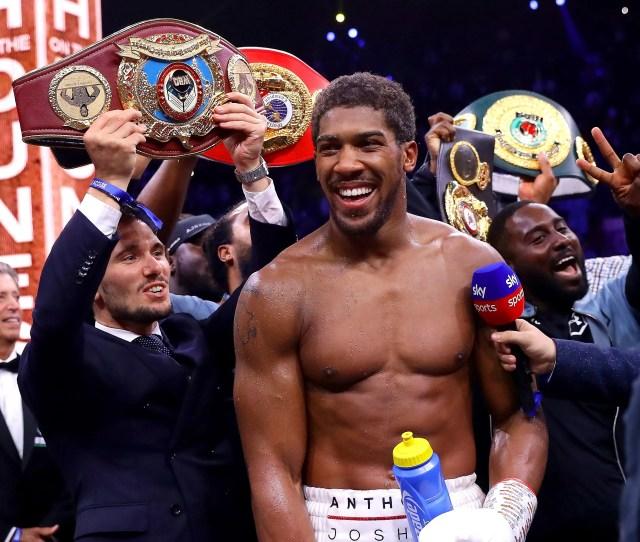 Ruiz Vs Joshua Round By Round Analysis Of Heavyweight Boxing Rematch