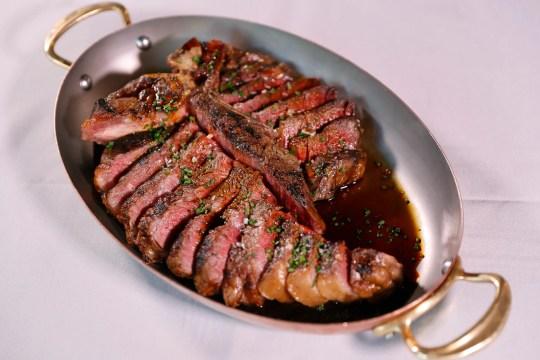 The Eisenhower (porterhouse steak) from Maple & Ash in Scottsdale.