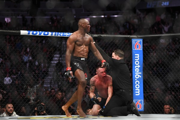 Kamaru Usman stops Colby Covington to retain welterweight title at UFC 245