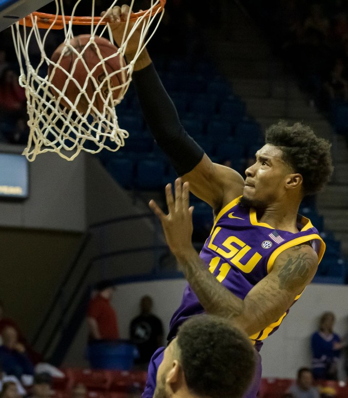 LSU vs. SIUE basketball betting odds, point spread, over/under