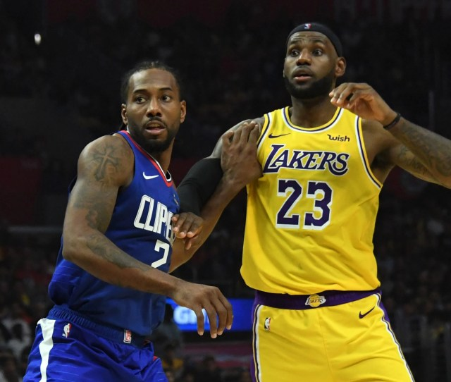 Nba On Christmas Lakers Clippers Commence Next Chapter In La Rivalry