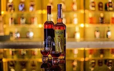 A wide variety of bourbons – and other spirits – are available at the Oscar Station, open to the public from 4-10 p.m., Wednesdays and Thursdays