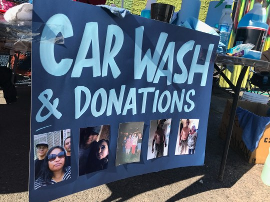Car washes to raise money for Xavier Rovie's family took place on Saturday, January 11, 2020.