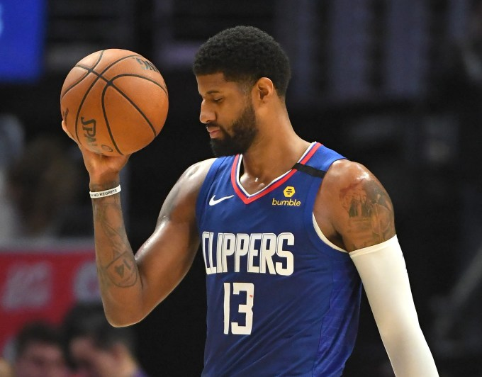 Paul George to miss some Clippers games with hamstring injury