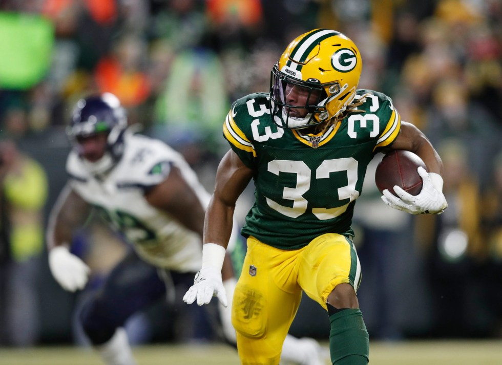 El Paso's Aaron Jones helps lead Green Bay Packers to NFC title game