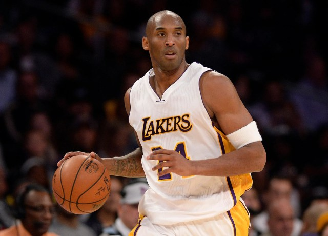Kobe Bryant played in the NBA from 1996-2016 with the Los Angeles Lakers.