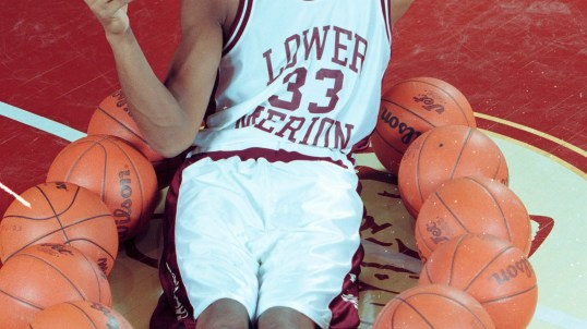 Kobe Bryant images that you've never seen from his high school days