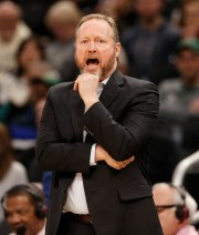 Bucks coach Mike Budenholzer is taking his time getting the Bucks ready in Orlando.