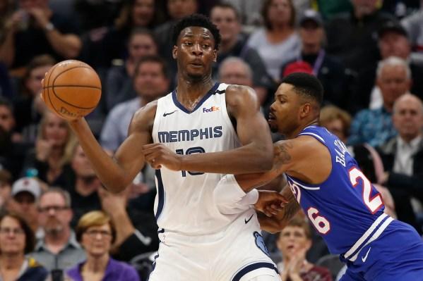 Jaren Jackson Jr. leaves Grizzlies-Lakers game with left knee soreness
