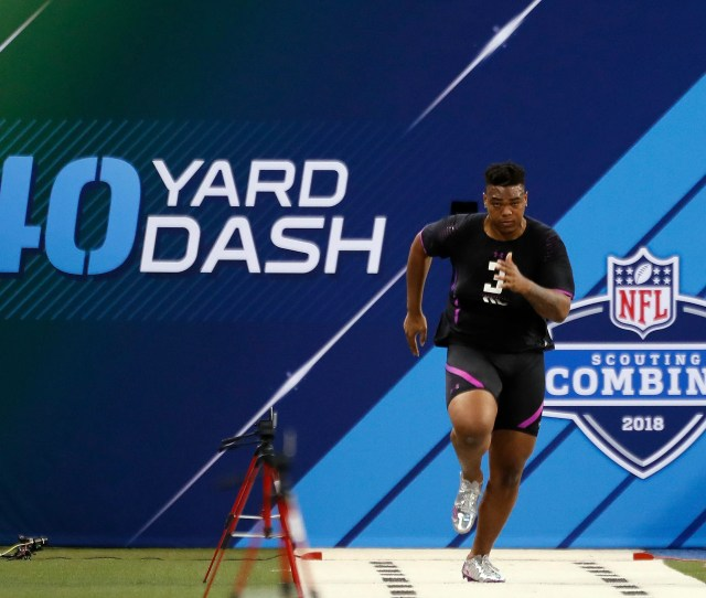 Orlando Brown Jr Still Taunted For Bad  Nfl Combine Performance