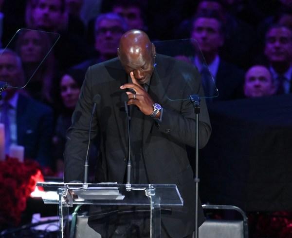 Michael Jordan remembers his
