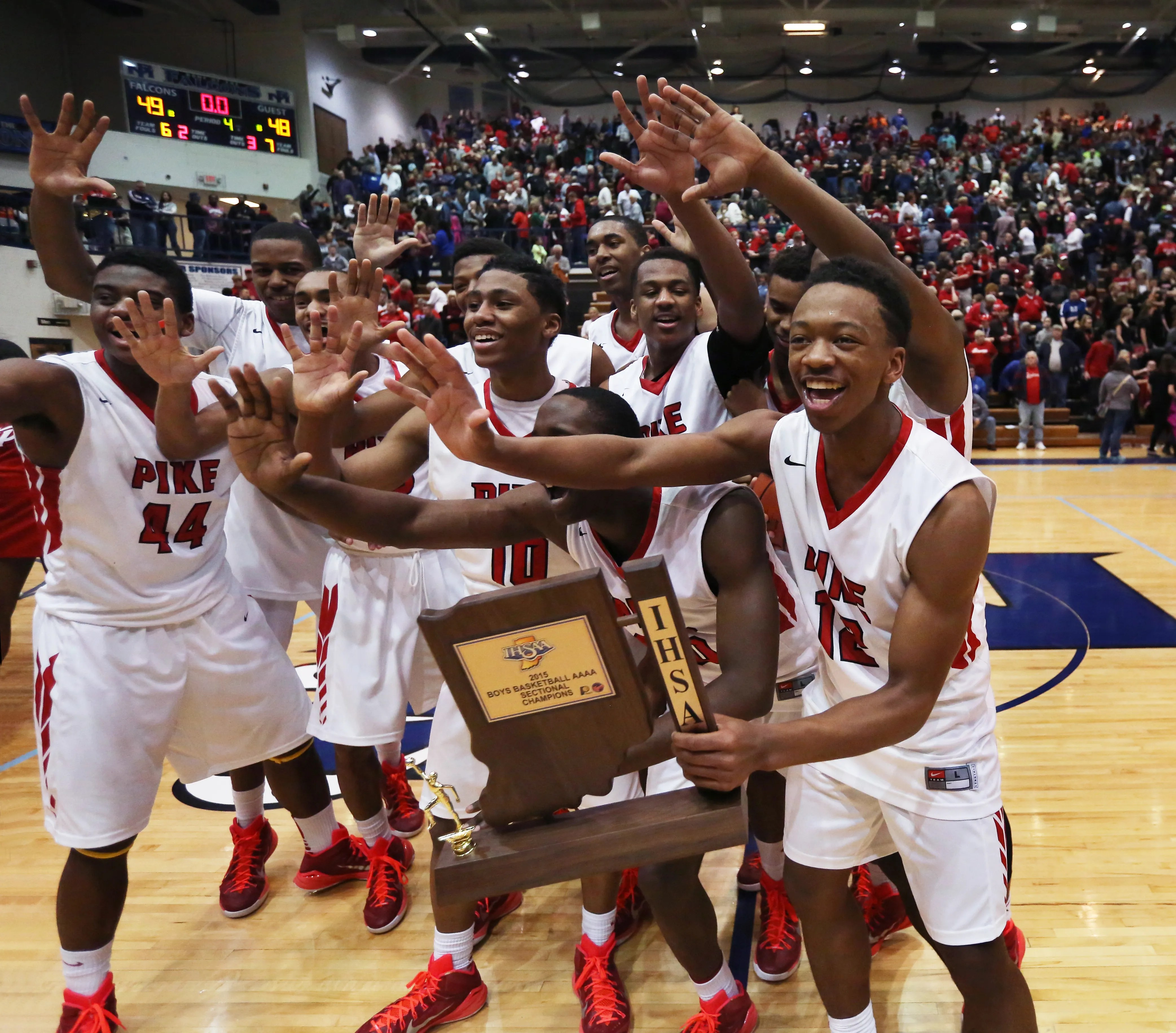 Ihsaa Basketball 10 Memorable Sectional Moments Over The Past 12