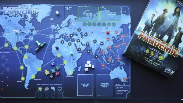 Pandemic, the game, has become all too real, says its creator