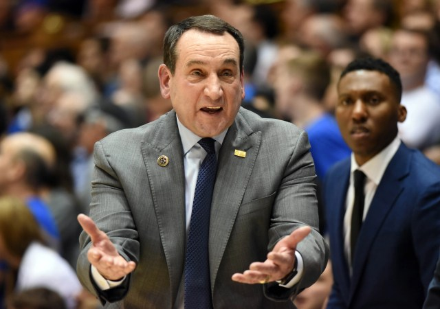No. 2: Mike Krzyzewski, Duke: $7,256,924 -- Because Duke is a private school, Krzyzewski's total is the one reported on the school's most recently available federal income tax return, which covers pay for the 2017 calendar year, including benefits and bonuses. Duke's return stated that $1,267,962 of Krzyzewski's total had been reported as deferred compensation on prior years' returns, but it provided no further details about when that money was accrued.
