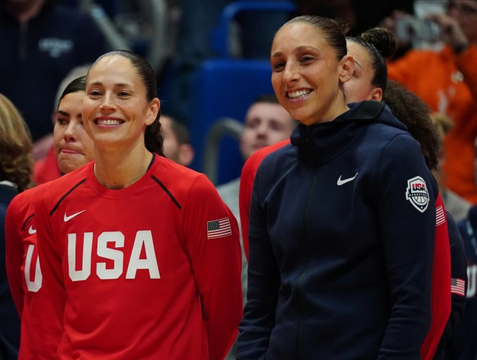 Sue Bird (left) and Diana Taurasi  have each won four Olympic gold medals playing for Team USA.