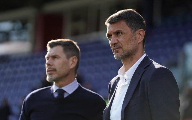Paolo Maldini, former player and current AC Milan technical director