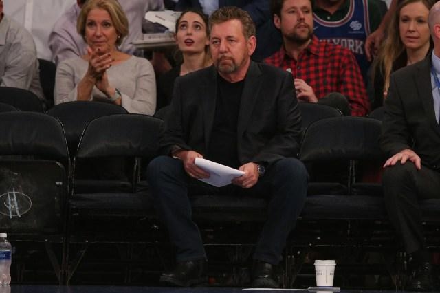 James Dolan, New York Knicks and Rangers owner