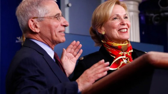 Anthony Fauci and Deborah Birx are diving into social media to ...
