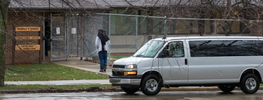 Offenders return to Marshall E. Sherrer Correctional Center after release from Union Group at Menomonee Falls in April.
