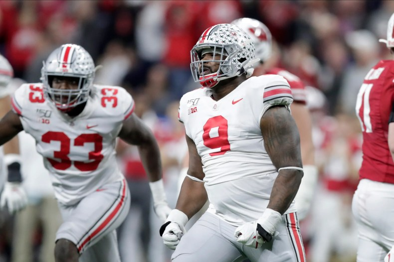 For good measure, Lions take one more Buckeye in DT Jashon Cornell