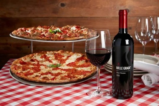 Grimaldi's Pizzeria celebrates Memorial Day along with National Wine Day on Monday, May 25. Customers can receive 50% off bottles of wine with any food purchase.