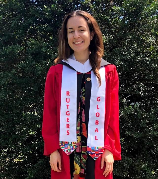 Alexandra Maris, Rutgers University. Hometown: Edison