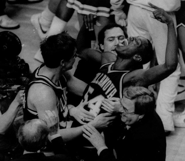 Why do I love sports? Because in 1985, Villanova's perfect game toppled the Georgetown dynasty