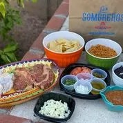 The Grill at Home Kit from Los Sombreros.