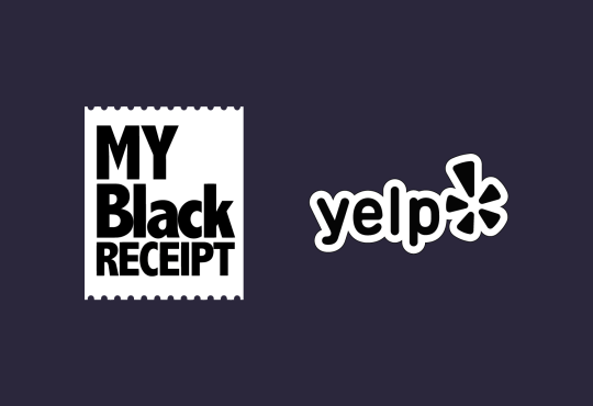 Yelp announced a partnership with My Black Receipt to amplify calls to buy from Black-owned businesses.